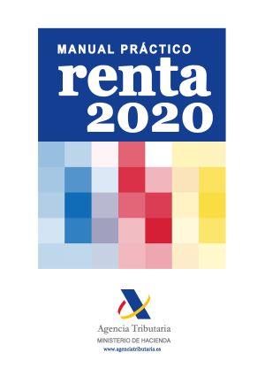 Portada del manual práctico de Renta 2020